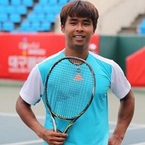 정홍, 대구 국제남자퓨처스 테니스대회 우승