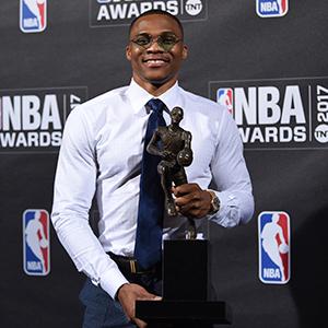 웨스트브룩, NBA '최우수선수'