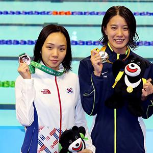 김서영, 타이베이U대회 수영 200m 개인혼영 동메달