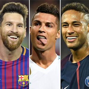호날두·메시·네이마르, FIFA '올해의 선수' 최종후보