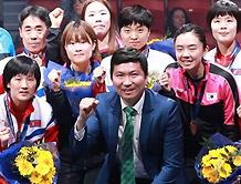 """유승민 IOC 선수위원 """"남북중일 대회 선수로 참가 행복"""""""