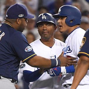 MLB 사무국 '더티 플레이 논란' 마차도에 '벌금'