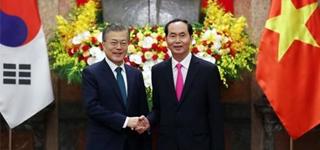 Los líderes de Corea del Sur y Vietnam acuerdan impulsar el comercio y la cooperación bilaterales