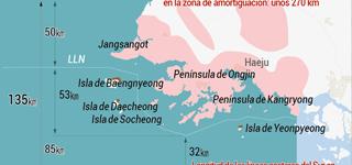 Disputa sobre la zona de amortiguación del mar del Oeste