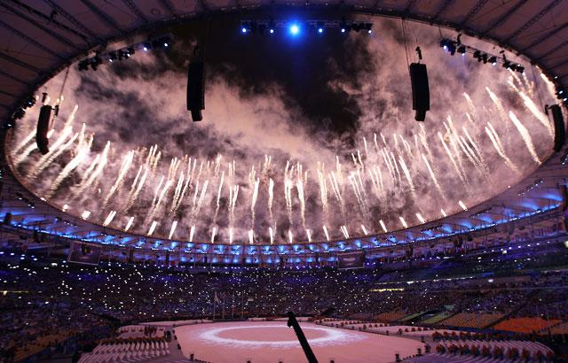 Clausura de los JJ. OO. de Río de Janeiro