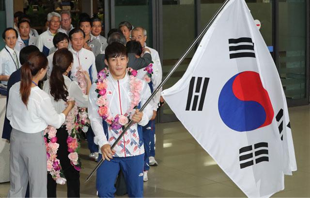 Los atletas olímpicos vuelven a Corea del Sur