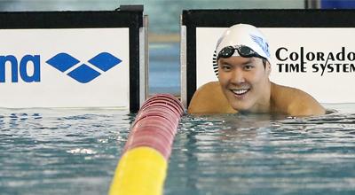 La estrella de la natación, Park Tae-hwan, persigue más oros en los JJ.AA.