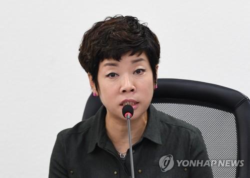 """김미화 남북철도추진위원장?…""""그런 기구ㆍ단체 없어"""""""