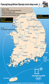 PyeongChang Winter Olympic torch relay route