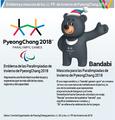 Emblema y mascota de los JJ. PP. de Invierno de PyeongChang 2018