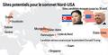 Sites potentiels pour le sommet Corée du Nord-Etats-Unis