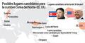 Posibles lugares candidatos para la cumbre Corea del Norte-EE. UU.