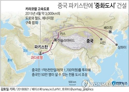 중국, 파키스탄 주관 해상훈련서 '밀착' 과시…인도 '긴장'