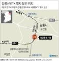 [그래픽] 강릉선 KTX 열차 탈선 위치