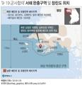 '9·19 군사합의' 서해 완충구역 및 창린도 위치