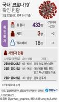 [그래픽] 국내 '코로나19' 확진 현황(오후 9시 현재)