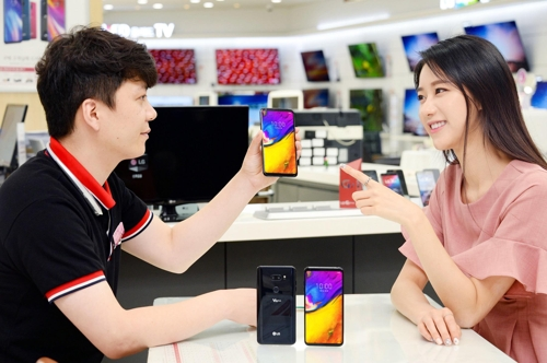 ال جي تطرح هاتفها  V35 ThinQ  في كوريا الجنوبية