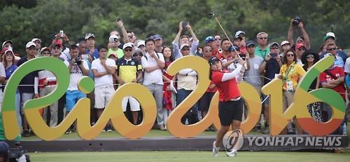 民调:韩国人对高球名将朴仁妃的奥运表现印象最深刻