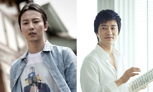 资料图片:金南佶(左)和金明民