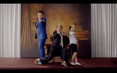 鸟叔《DADDY》MV画面截图(YG娱乐提供)