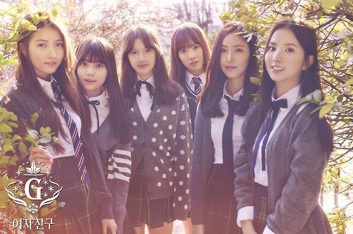 韩国女团GFRIEND(韩联社/Source Music提供)