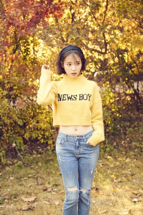 歌手IU(Loen-Fave娱乐提供)