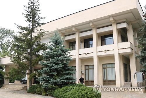 朝鲜驻保加利亚使馆(韩联社)