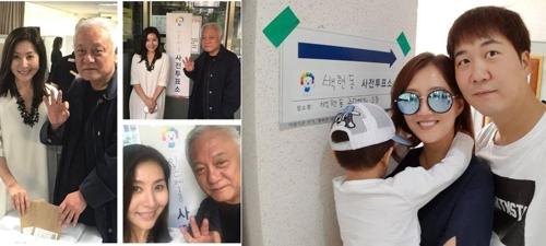 图左来自崔明吉Instagram,图右来自陶京万Instagram。