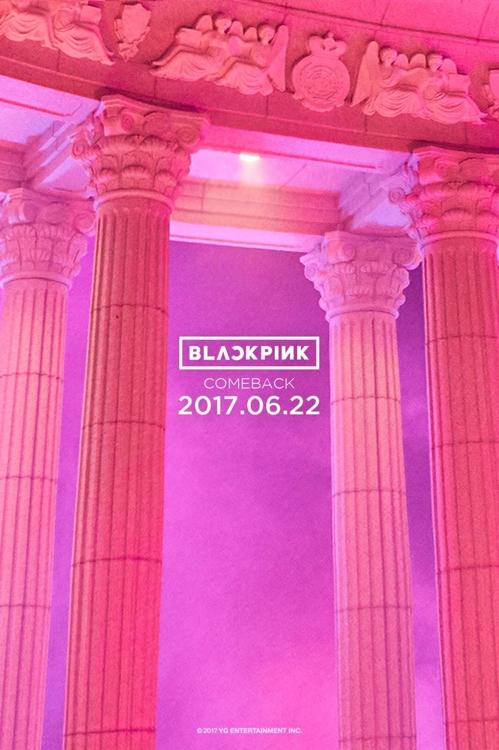 BLACKPINK回归预告图片(韩联社/YG娱乐提供)