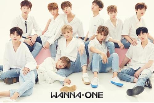 男团Wanna One(韩联社/Wanna One Instagram)