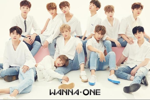 男团Wanna One(韩联社/Wanna One Instagram)