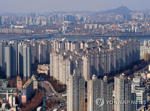 首尔市的公寓(韩联社)