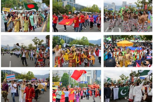 资料图片:2016年MAMF多元文化游行照(韩联社/MAMF促进委员会提供)