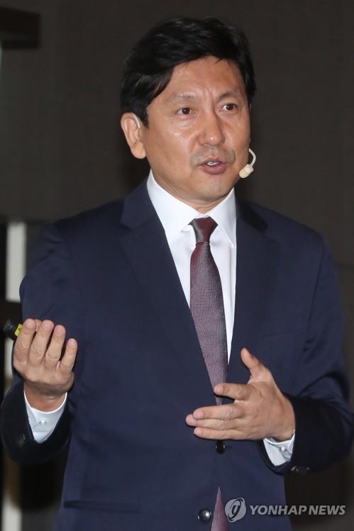 CJ E&M电影事业部部长郑泰成(韩联社)