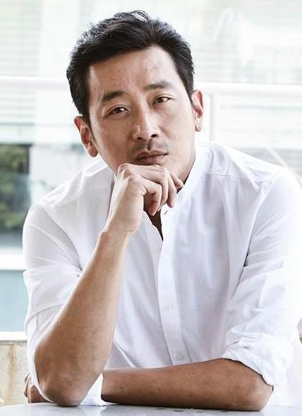 演员河正宇(韩联社/希杰娱乐传媒公司提供)