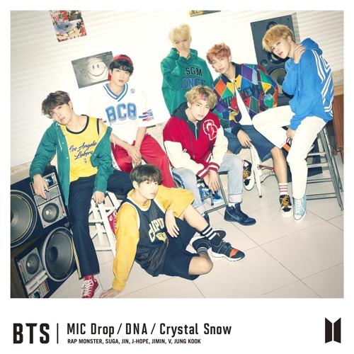 资料图片:BTS在日本推出的新辑封面 (韩联社/Big Hit娱乐提供)