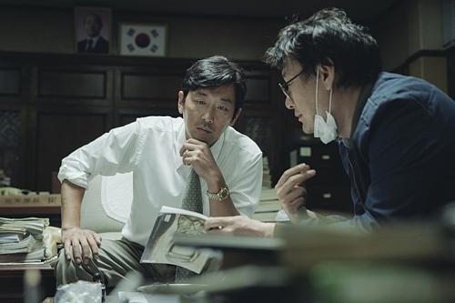 《1987》剧照(韩联社/CJ娱乐提供)