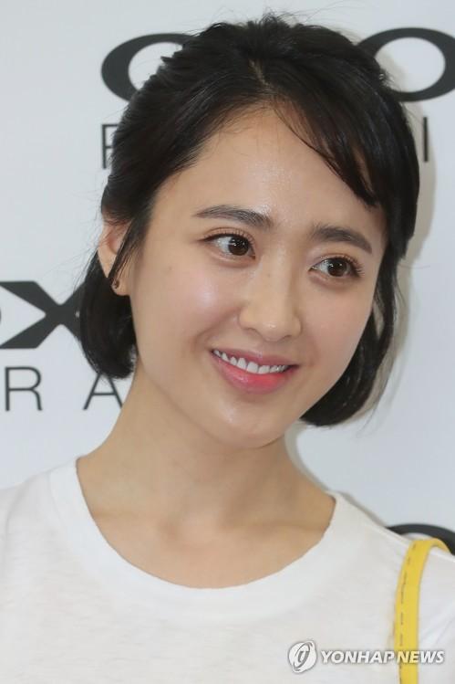 资料图片:演员金敏贞(韩联社)