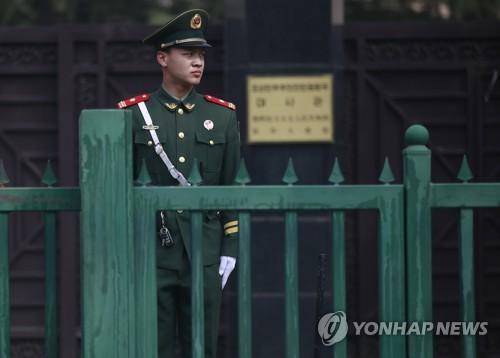 资料图片:朝鲜驻华大使馆(韩联社/欧新社)