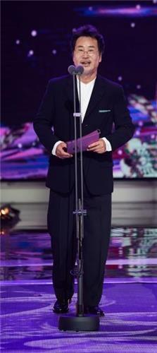 首尔国际电视节评审团主席、演员柳东根。(韩联社/首尔国际电视节提供)