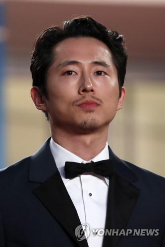 演员史蒂文・延(韩联社/欧新社)