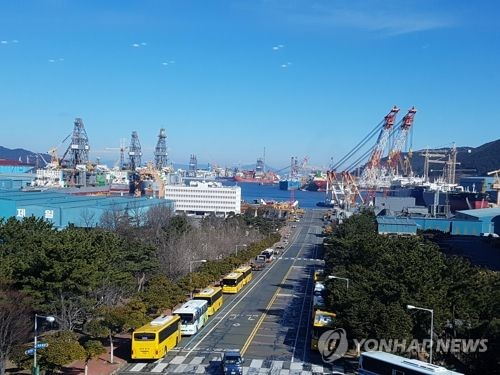 资料图片:庆尚南道巨济岛(韩联社)