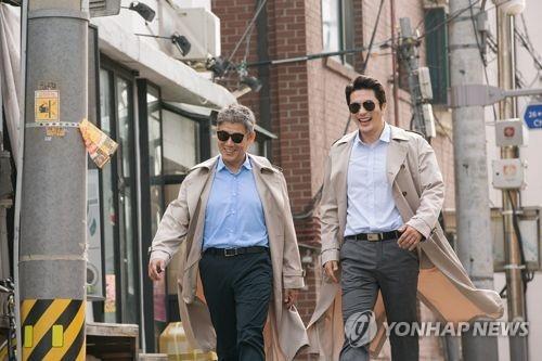 《侦探:回归》剧照(韩联社/CJ娱乐提供)