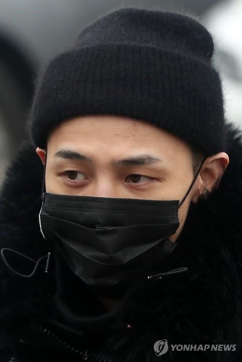 资料图片:歌手G-DRAGON(韩联社)