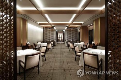 资料图片:图中高档餐厅与本新闻无直接关系。(韩联社)