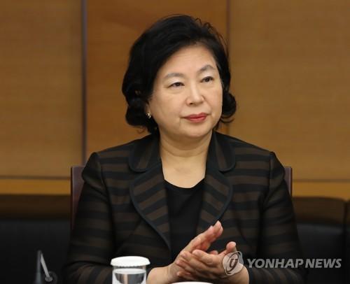 资料图片:现代集团会长玄贞恩(韩联社)