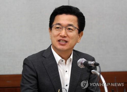资料图片:大田市长许泰铤(韩联社)