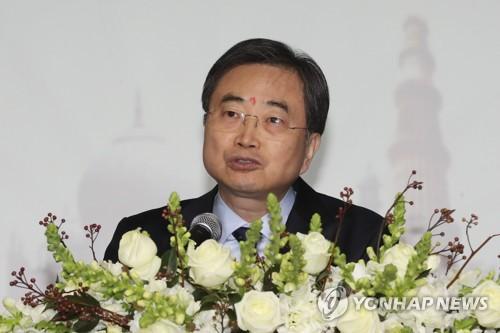 外交部第二次官赵显(韩联社)