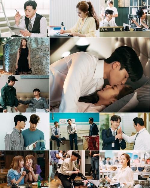 《金秘书》剧照和花絮照(tvN提供)
