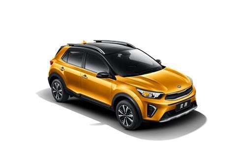 起亚汽车8月23日表示,日前针对中国年轻消费者推出全新入门级SUV奕跑(KX1)。图为新车外观。(韩联社/起亚汽车提供)